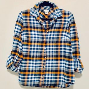 J.Crew• Women's Flannel Button Down Shirt